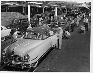 Photo of Car Assembly Line at Nash Seaman Manufacturing