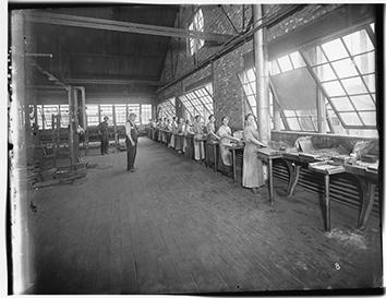 Photo of Women in Rex Chain Factory