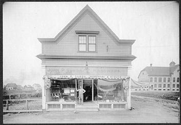 Photo of Gurda Hardware Store on Lincoln Avenue