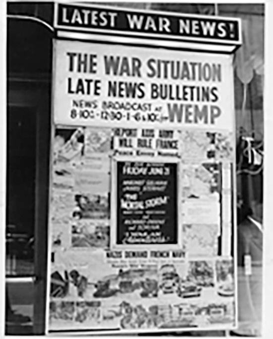 Photo of World War II and WTMJ