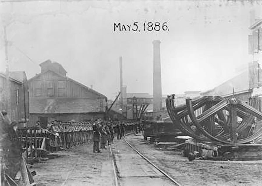 Photo of Bay View Rolling Mill Riot