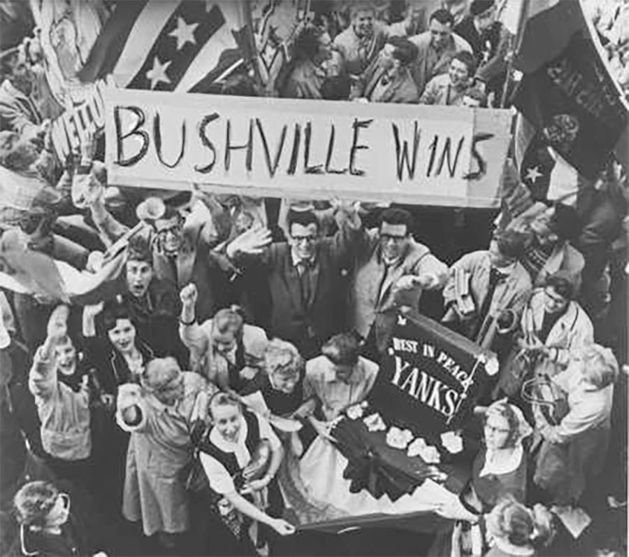 Photo of 1957 Milwaukee Braves Win the World Series