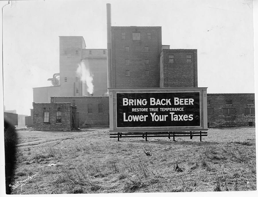 Photo of Prohibition Billboard