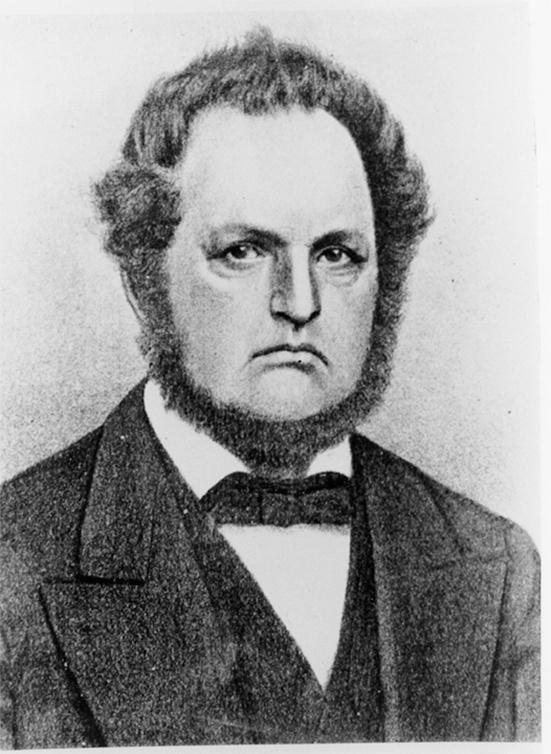 Photo of Byron Kilbourn, one of Milwaukee's three founders