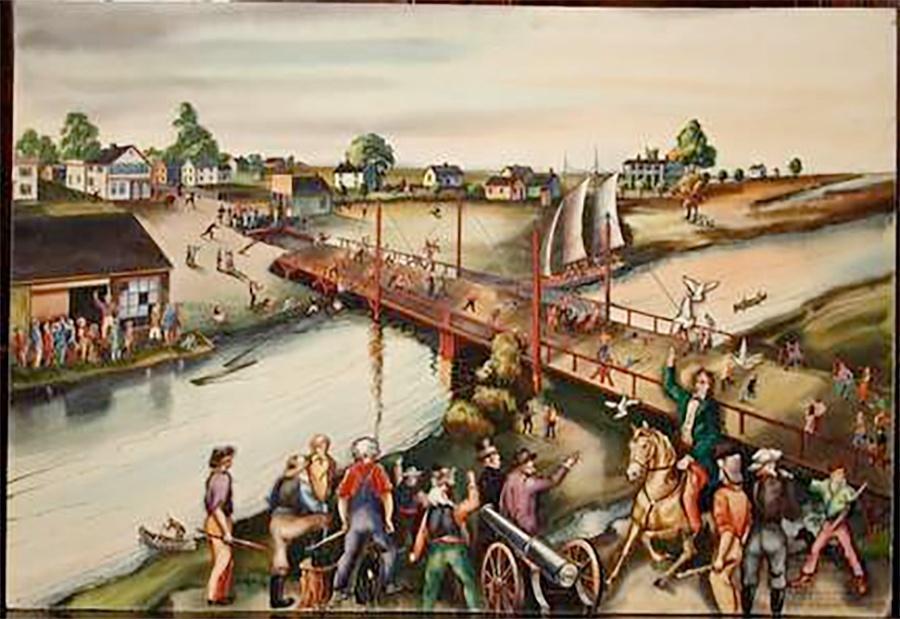 Photo of West Siders Destroy Bridge