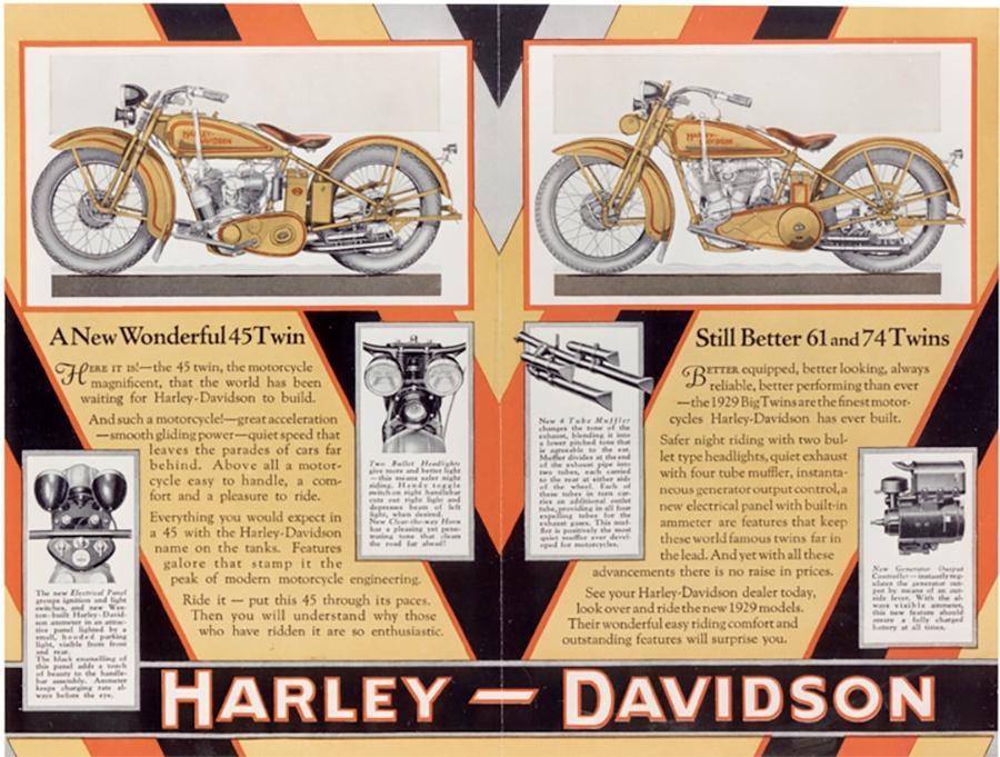Harley-Davidson Advertisement