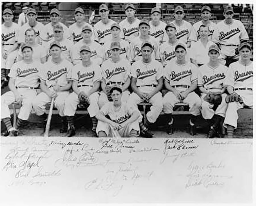Photo of The Brewers Baseball Team Played at Borchert Field