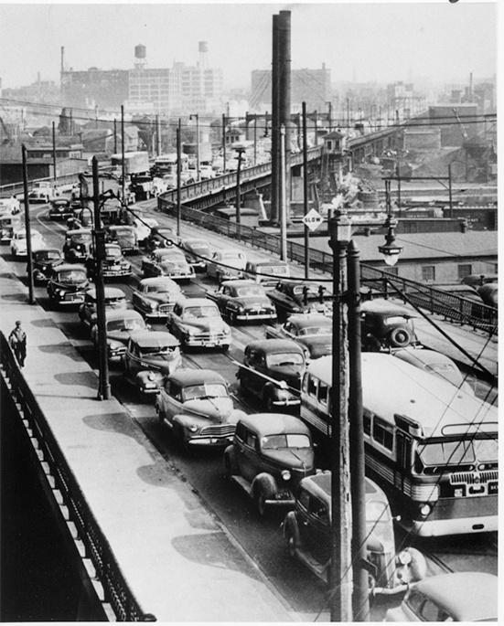 Photo of 6th Street Viaduct Traffic Jam