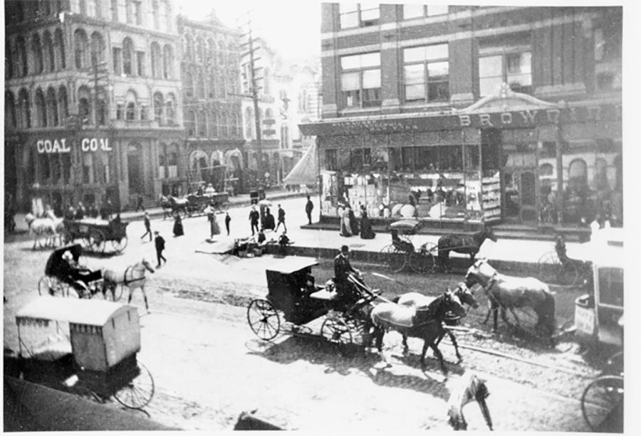 Photo of Streetscene, Water Street and Wisconsin Ave.