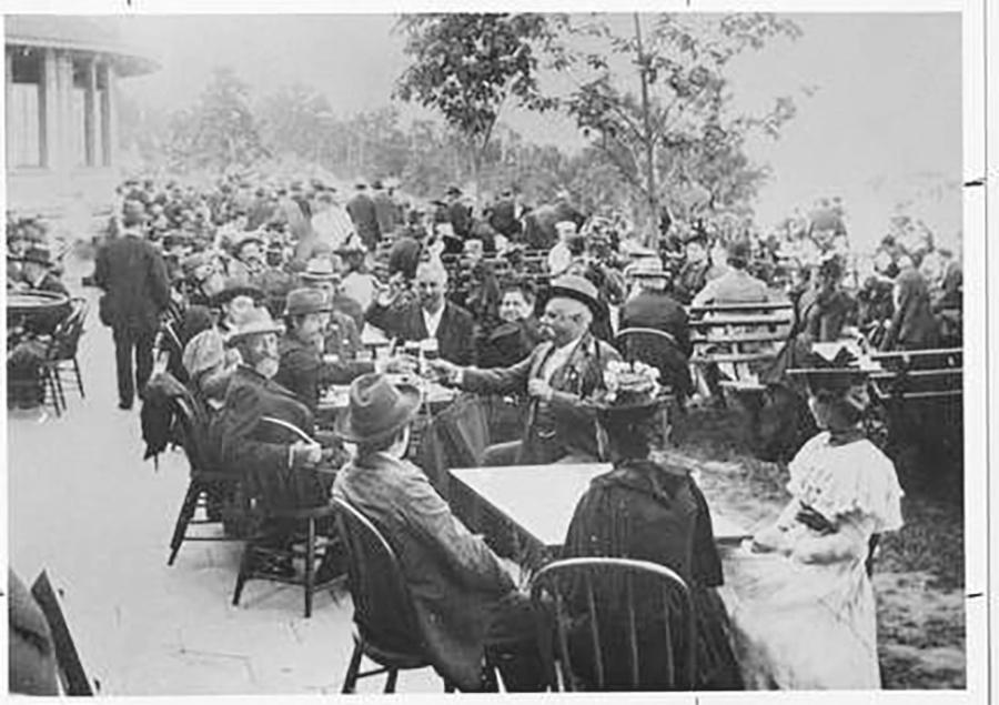 Photo of The Pabst Resort was a German Beer Garden