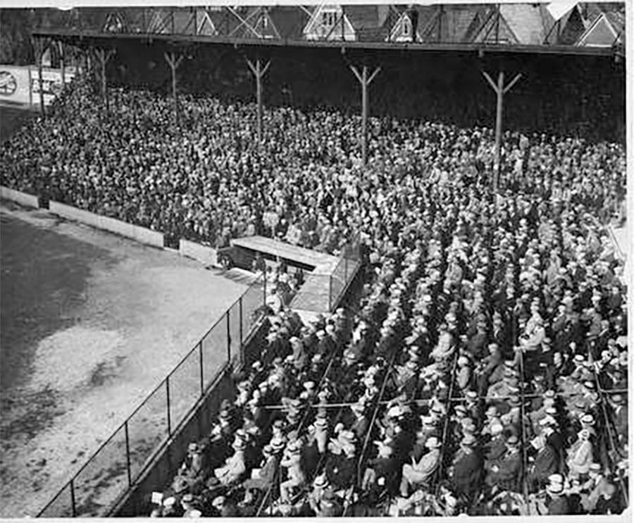 Photo of Borchert Field Baseball Game