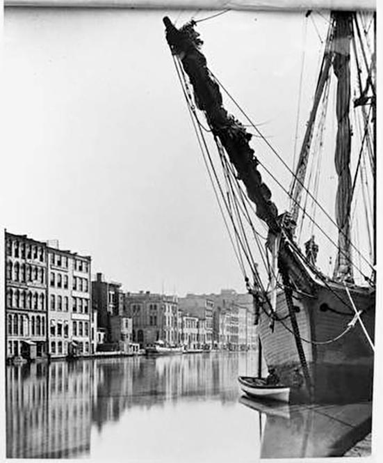 Photo of Schooner photograph by H.H. Bennett