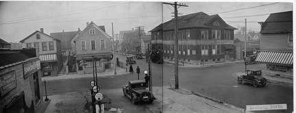 Photo of Streetscene, 16th and Galena, looking north