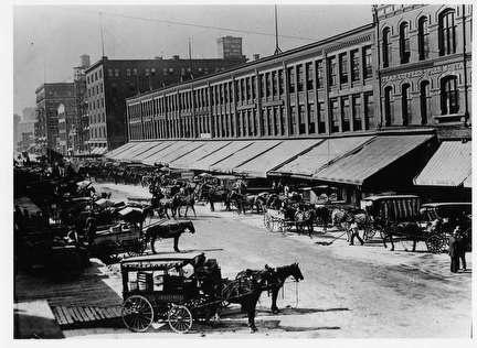 Photo of Streetscene, Commission Row on Broadway