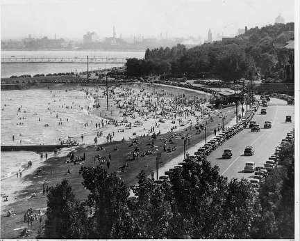 Photo of Bradford Beach at the Lakefront