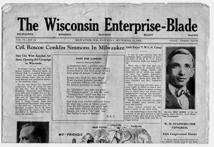 Photo of The Wisconsin-Enterprise Blade Newspaper