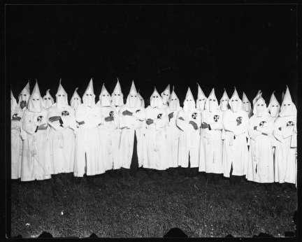 Photo of Ku Klux Klan