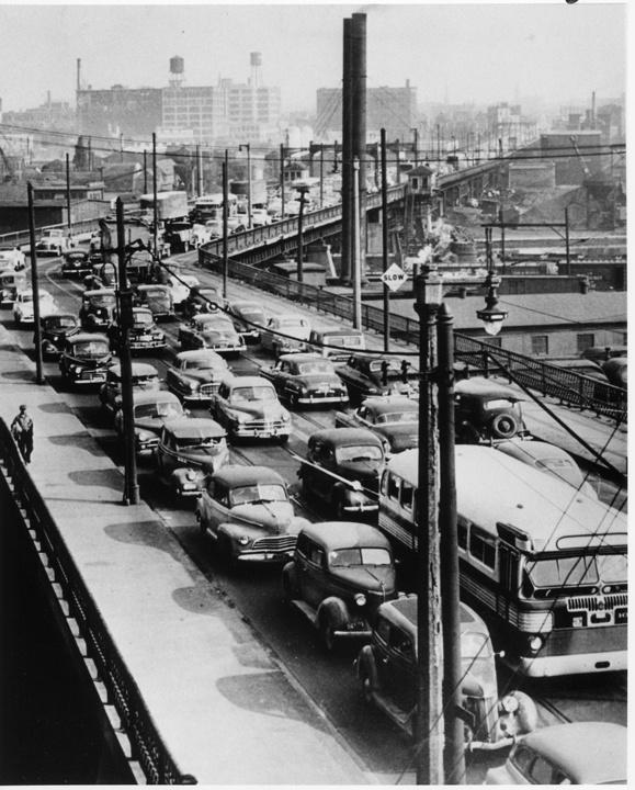 Photo of 6th Street Viaduct Traffic Jam