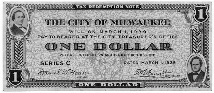 Photo of Milwaukee Currency