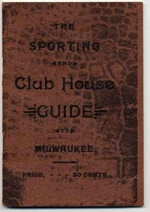 Cover of Sporting Club House Guide