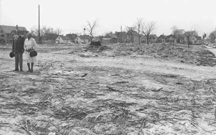 Photo of Neighborhood was Razed for Expressway