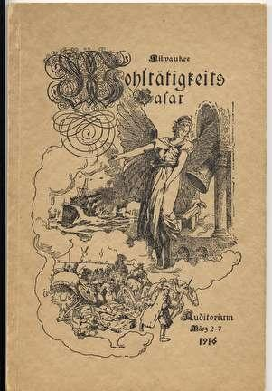 Photo of German Welfare Book To Raise Funds for Germany during WWI