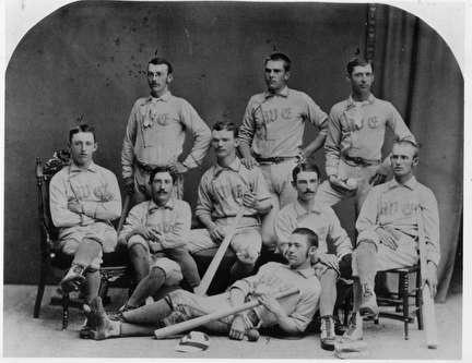 Photo of Baseball Team