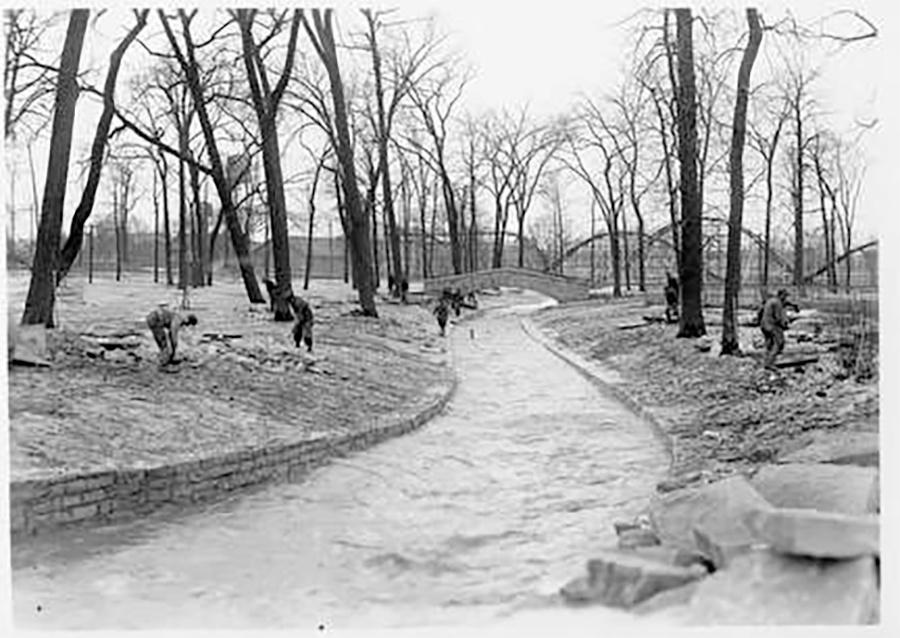 Photo of Lincoln Creek in Lincoln Park