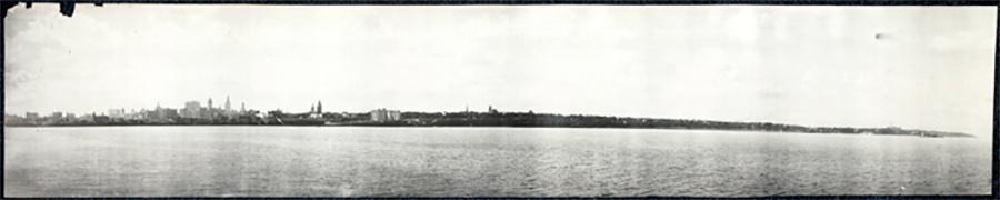 Photo of City Skyline of Milwaukee from Lake Michigan