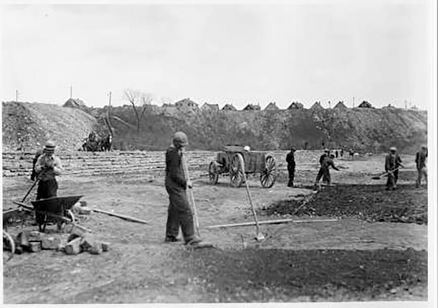 Photo of Estabrook Park Construction