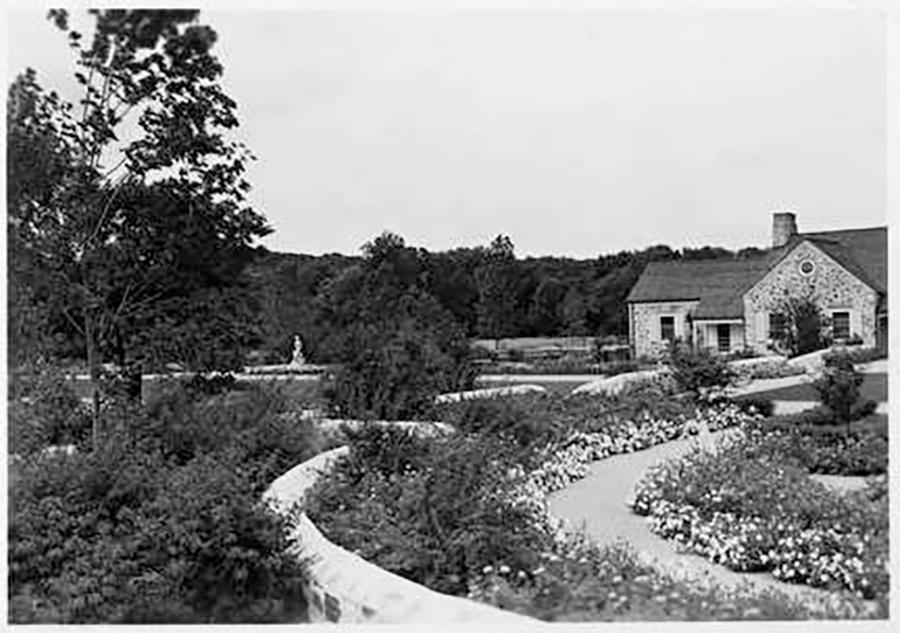 Photo of Gardens and Stone House in Whitnall Park
