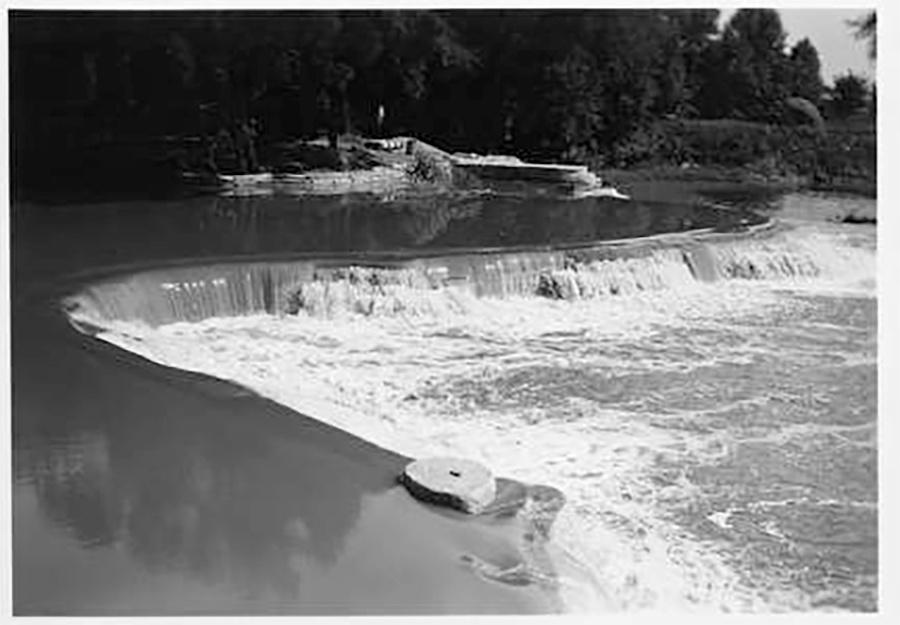 Photo of Dam Completed Kletch Park
