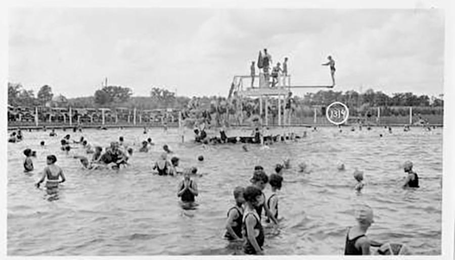 Photo of Greenfield Park Pool in Use