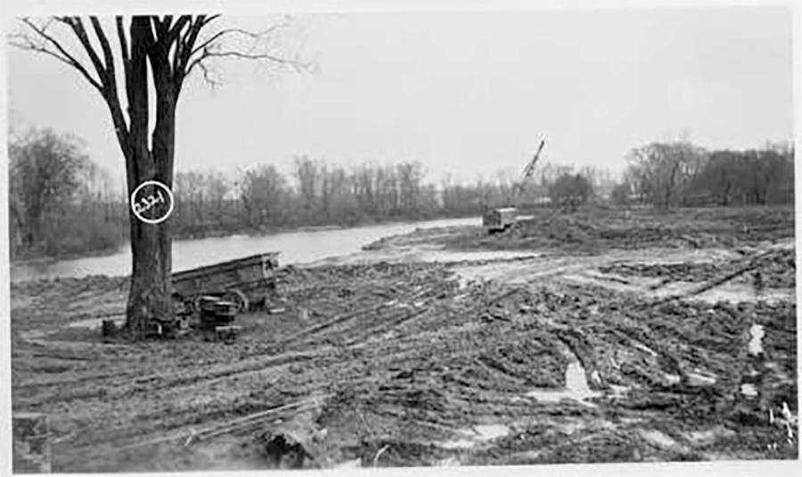 Photo of Swimming Beach during Construction at Blatz Park