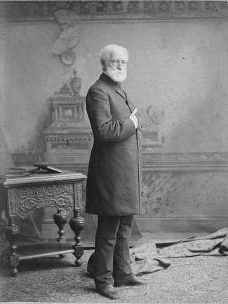 Photo of Dr. Erastus B. Wolcott, Physician, 1804-1880