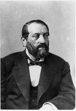 Photo of Guido Pfister, Tanner, 1818-1889