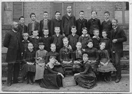Photo of German English Academy Class Picture