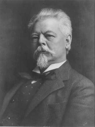 Photo of Captain Frederick Pabst in his later years, Brewery Owner