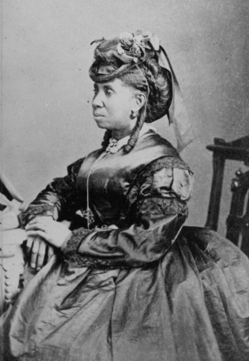 Photo of Early African-American Settler in Milwaukee, Susanna Watson