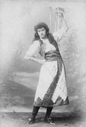Photo of Woman with Tamborine