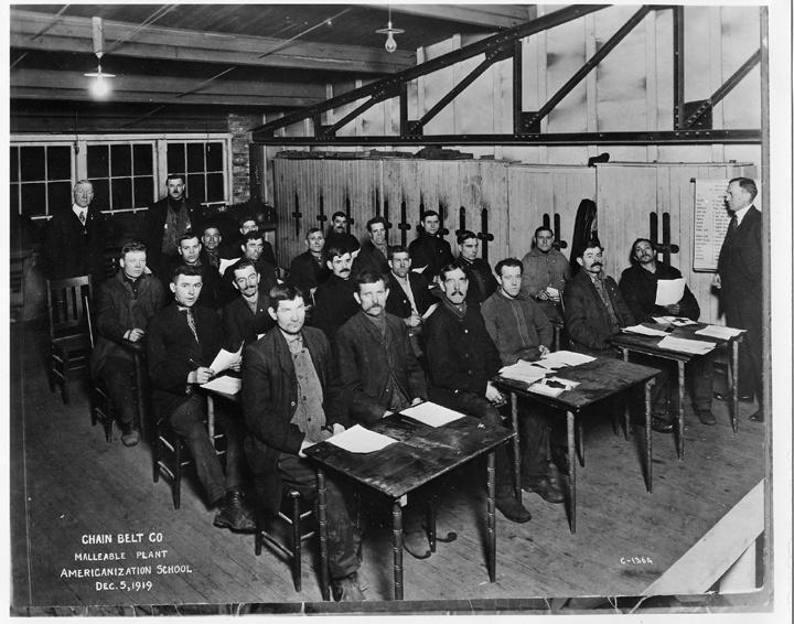 Photo of Americanization School for New Immigrants