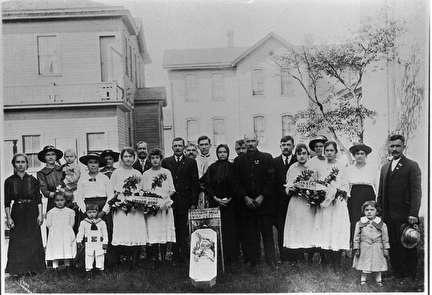 Photo of Croation Infant Funeral Portrait