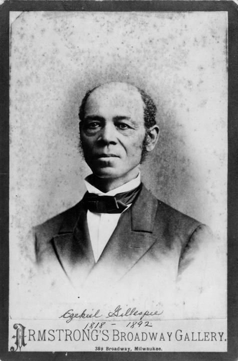 Photo of Ezekiel Gillespie Portrait without Glasses