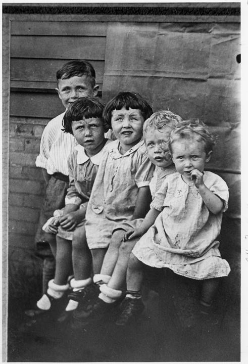 Photo of Irish Immigrant Children