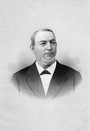 Photo of Valentin Blatz, Brewery Owner, 1826-1894