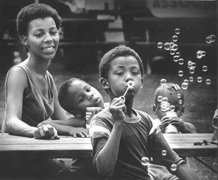 Photo of African American Family