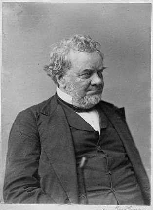 Photo of Hans Crocker was Mayor of Milwaukee in 1852