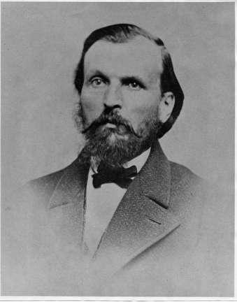 Photo of Frederick Vogel, Tanner, 1823-1892