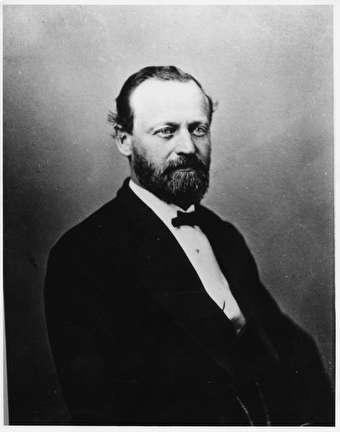 Photo of Joseph Schlitz, Brewery Owner, 1831-1879