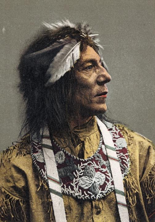 Photo of Ojibwe Man